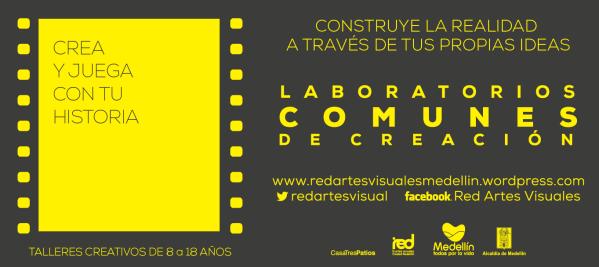 Laboratorios Comunes de Creación, Red de Artes Visuales  httpredartesvisualesmedellin